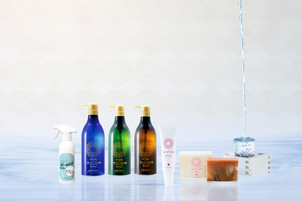 BE WASH/アミノ酸系シャンプー、頭皮用パック、化粧石けん、ドライシャンプー(ペット用)